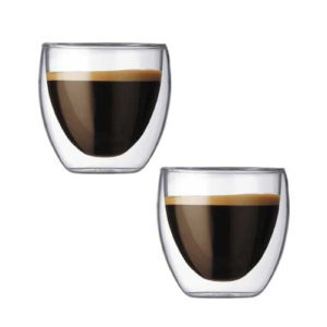 Espresso cup double layer