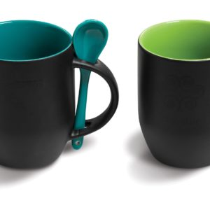 Mug with spoon