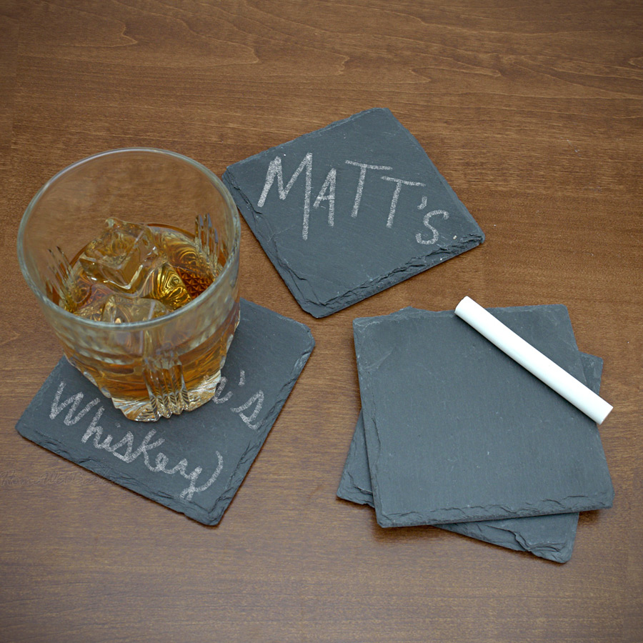 A set of stone coasters