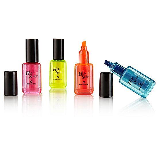 Marker nail polish / lipstick molding