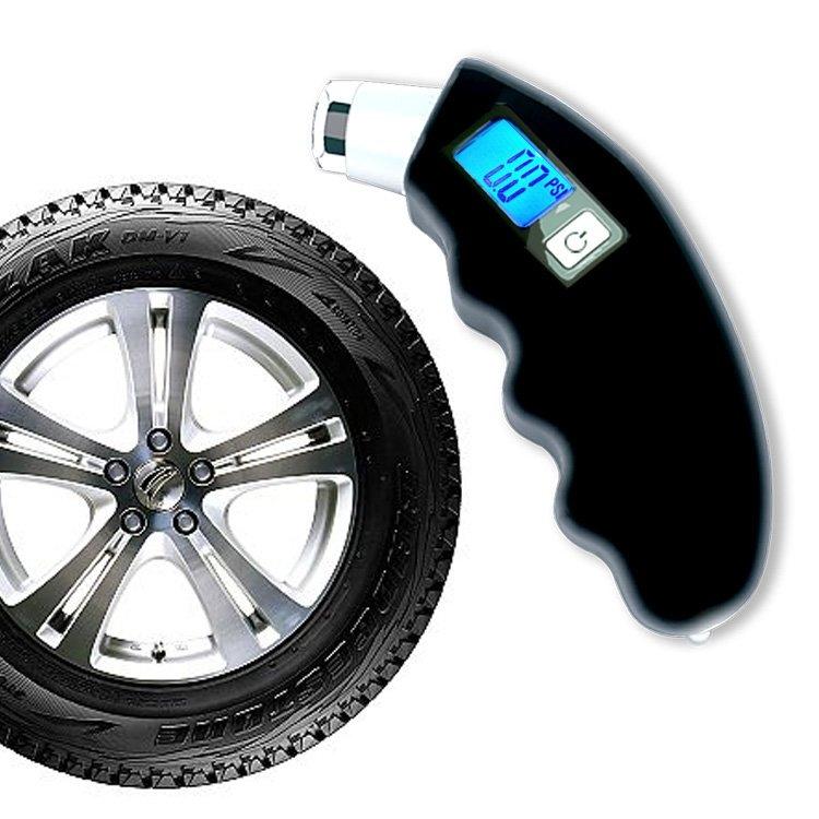 Tire air pressure gauge vehicle