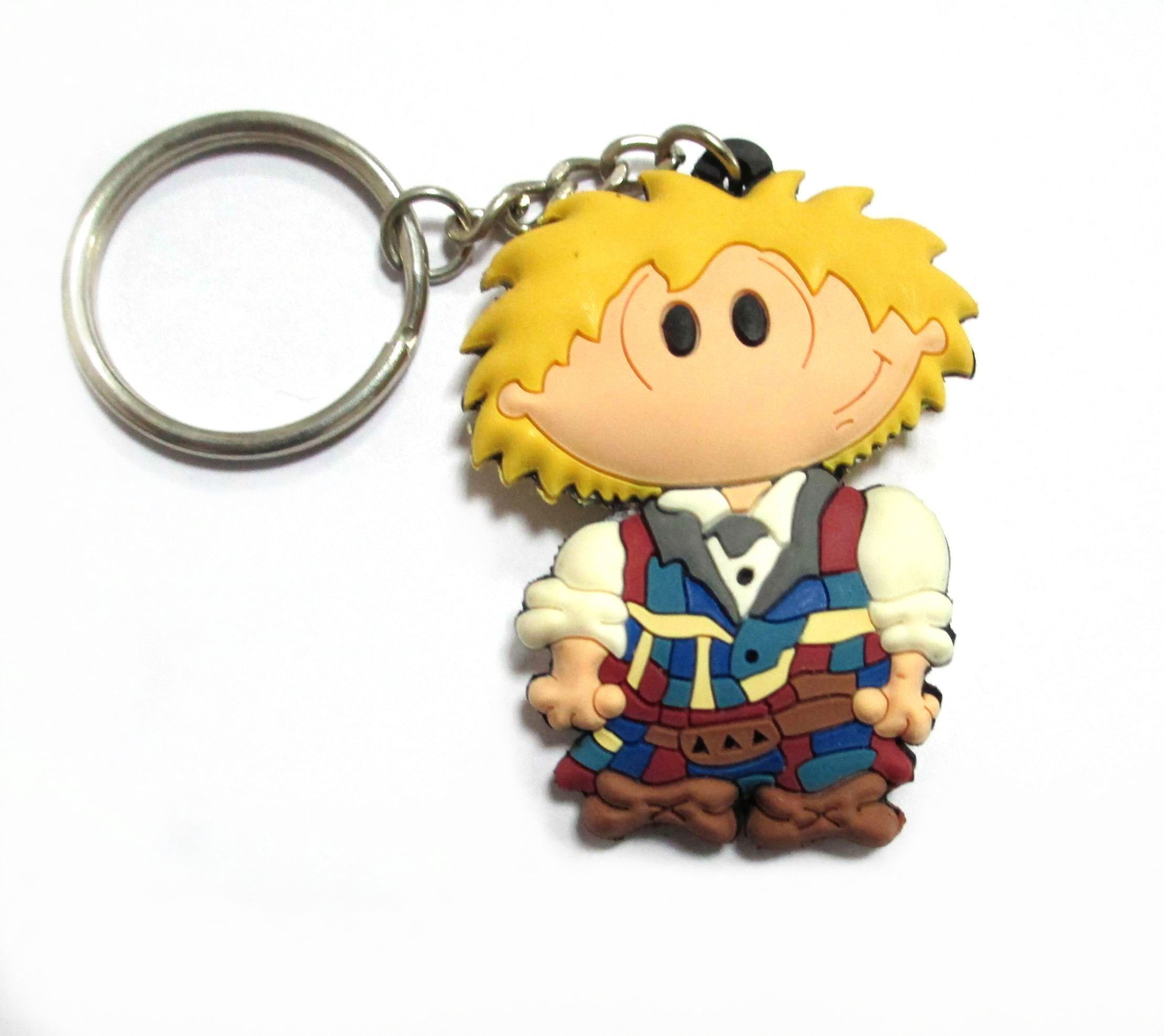 Formal pvc keychain