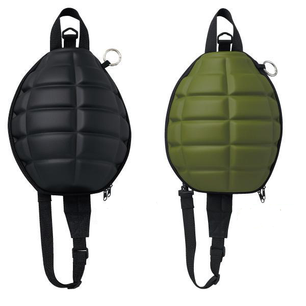 Grenade-shaped bag