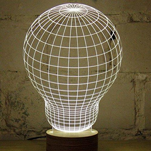 Three dimensional lamp