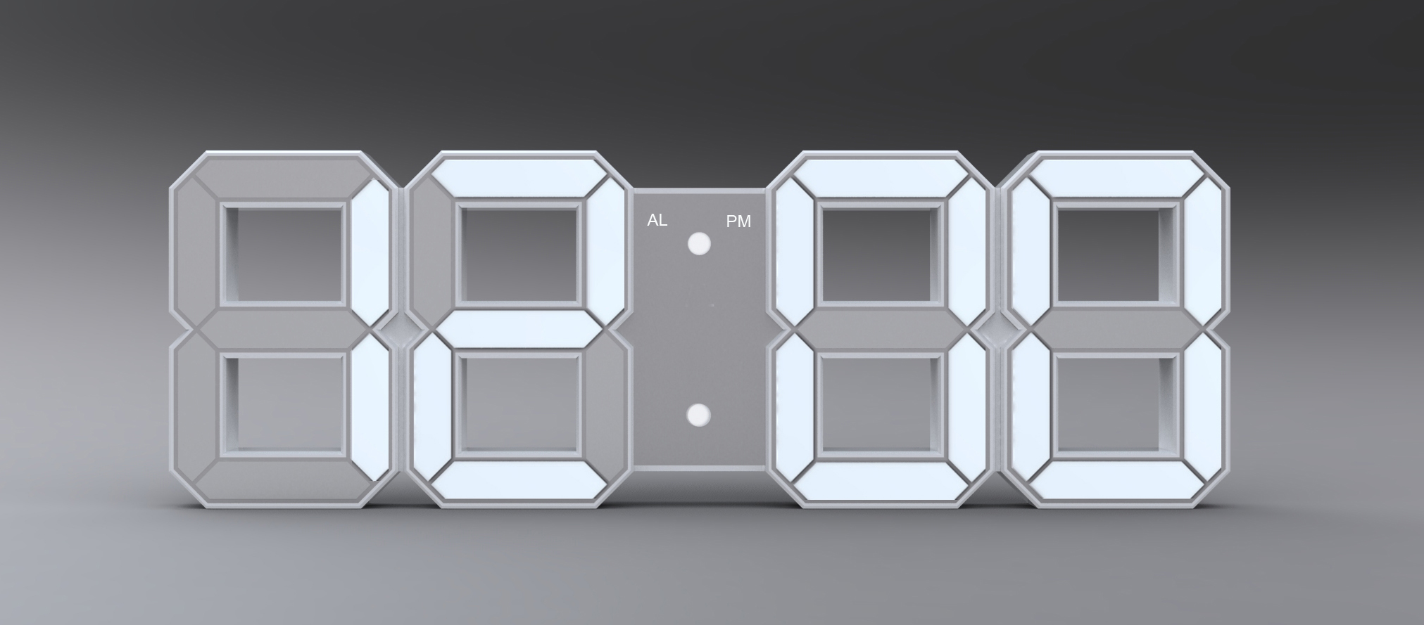 Digital clock Meyer