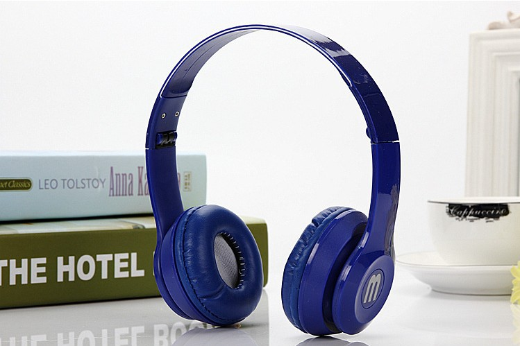 Rainbow headphones fold