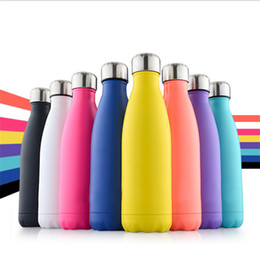 Stainless steel bottles designed
