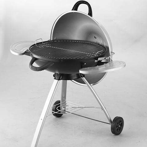 Portable barbecue position