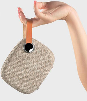 Speaker canvas bag