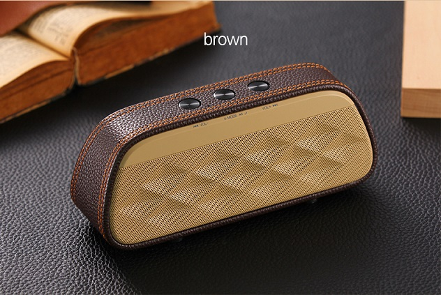 Speaker luxury leather