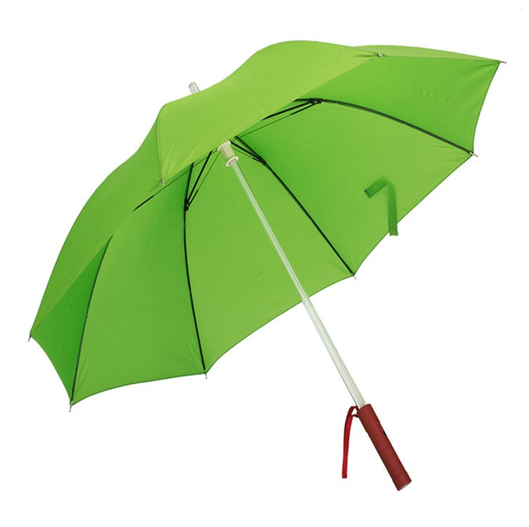 Umbrella with LED lighting