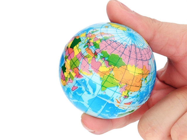 Globe Stress Ball design