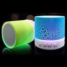 Blots speaker with LED lighting